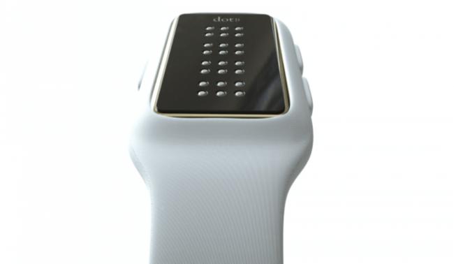 «Умные часы Брайля» Dot разработаны специально для слепых