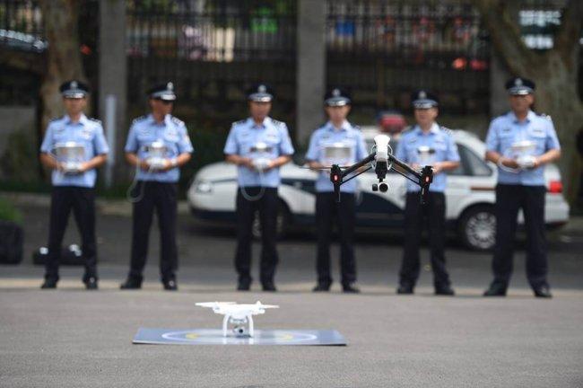 Полицейский дрон