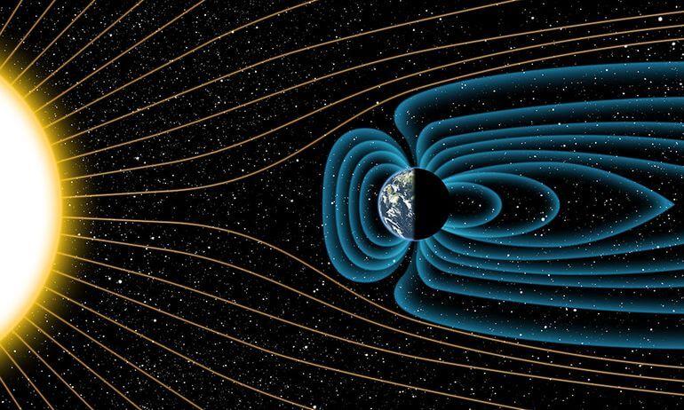 Магнитное поле Земли может быть на 750 миллионов лет старше, чем ранее считалось