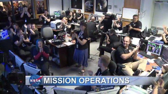 Зонд «Новые горизонты» успешно пересёк систему Плутона