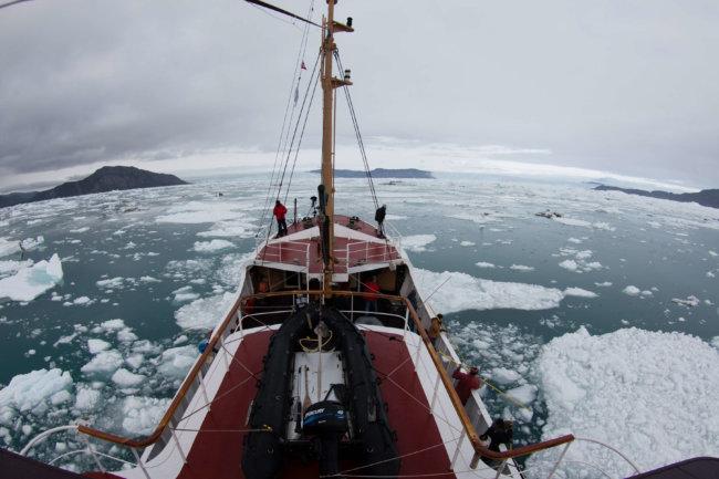 Ледники Гренландии тают быстрее, чем считалось ранее