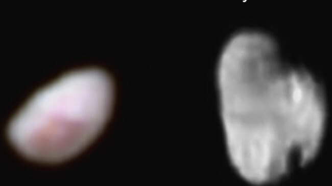 Опубликованы новые фотографии спутников Плутона Никты и Гидры