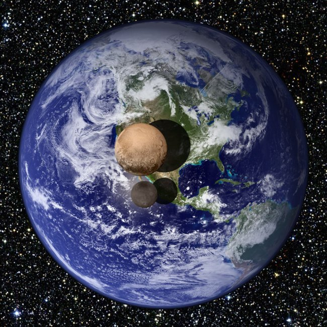 Учёные уточнили размер Плутона