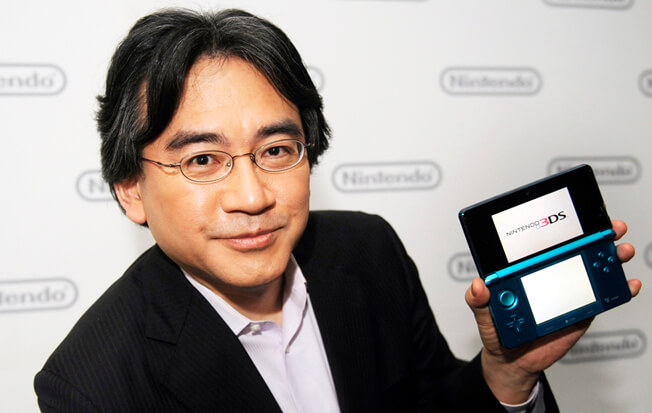 Умер президент Nintendo Сатору Ивата