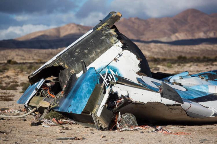 Найден виновный в катастрофе суборбитального космического корабля SpaceShip Two