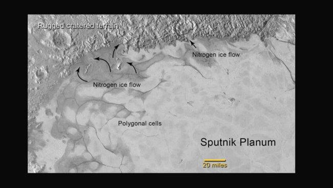 NASA показала новые фотографии Плутона