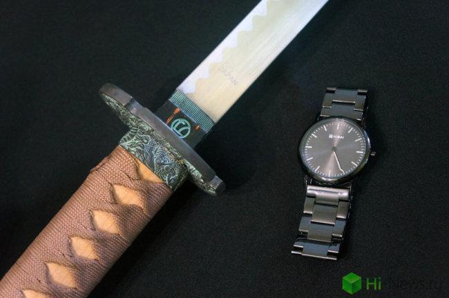 Обзор наручных часов Kisai Katana Link