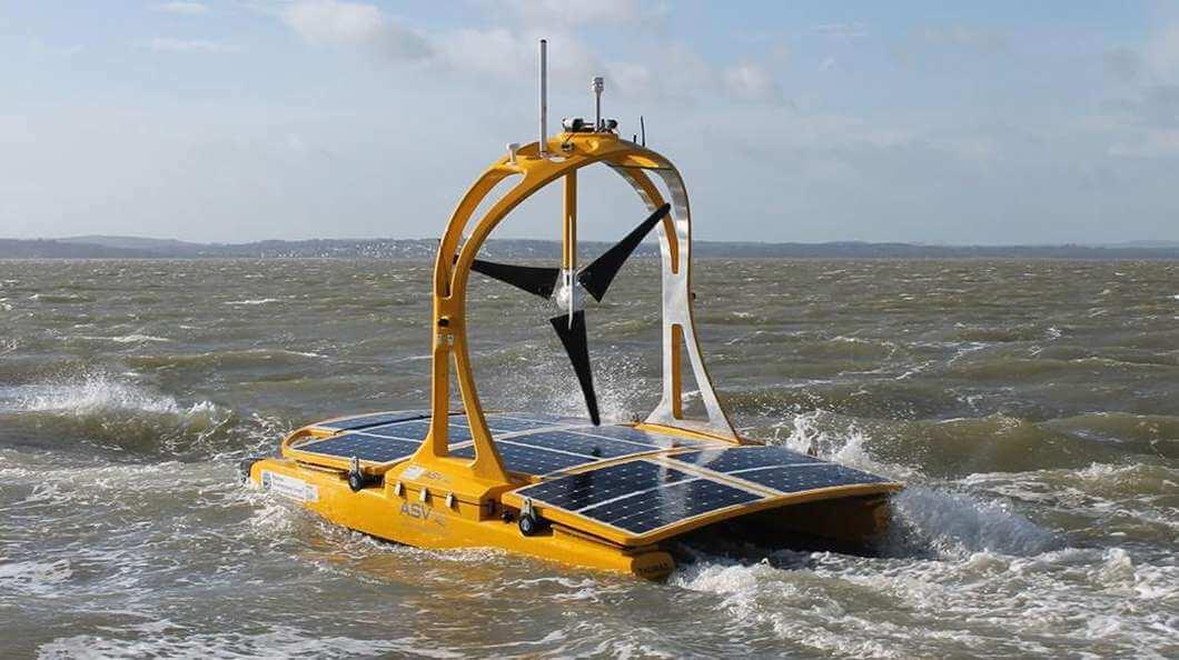 Автономный катамаран отправился исследовать Кельтское море