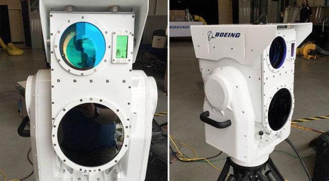 Компания Boeing продемонстрировала лазерную установку для уничтожения дронов