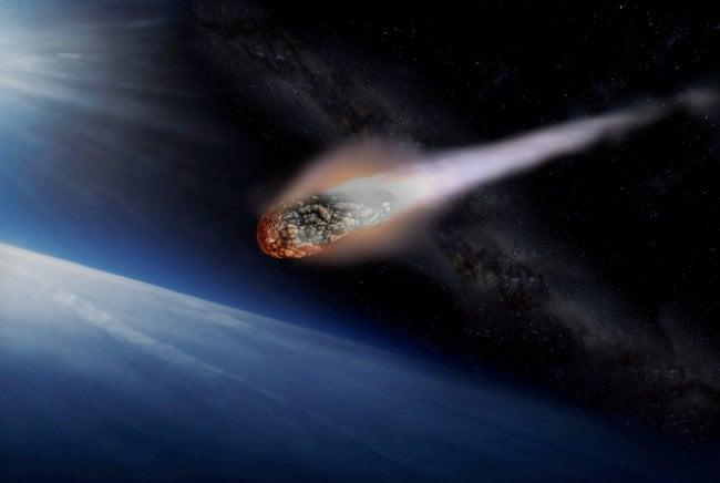 Насколько большим должен быть метеор, чтобы долететь до Земли?