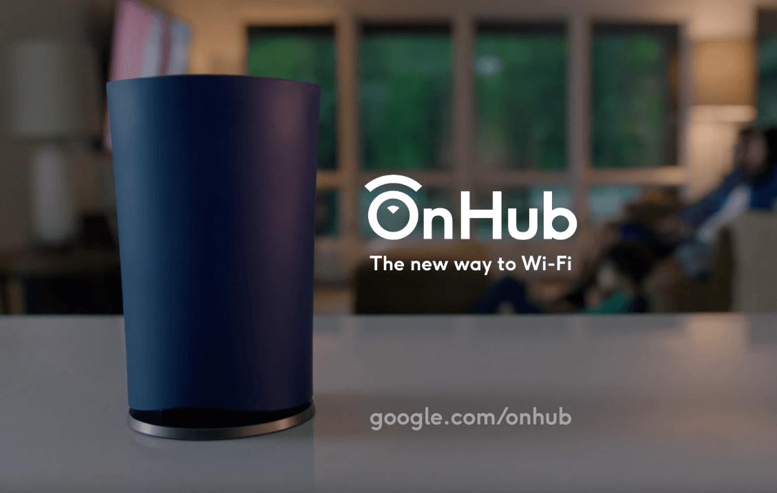 Компания Google выпустила собственный роутер OnHub