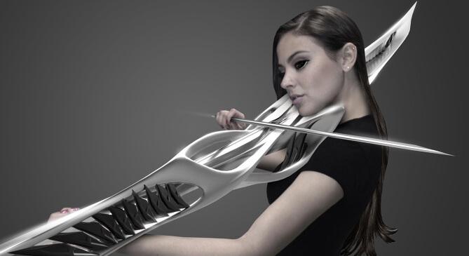 Pauline – первая в мире электрическая скрипка, напечатанная на 3D-принтере