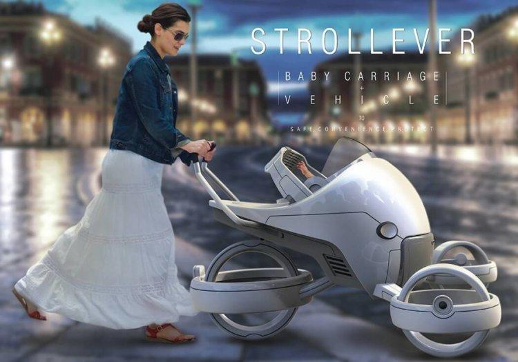 Strollever – детская коляска из фантастического фильма