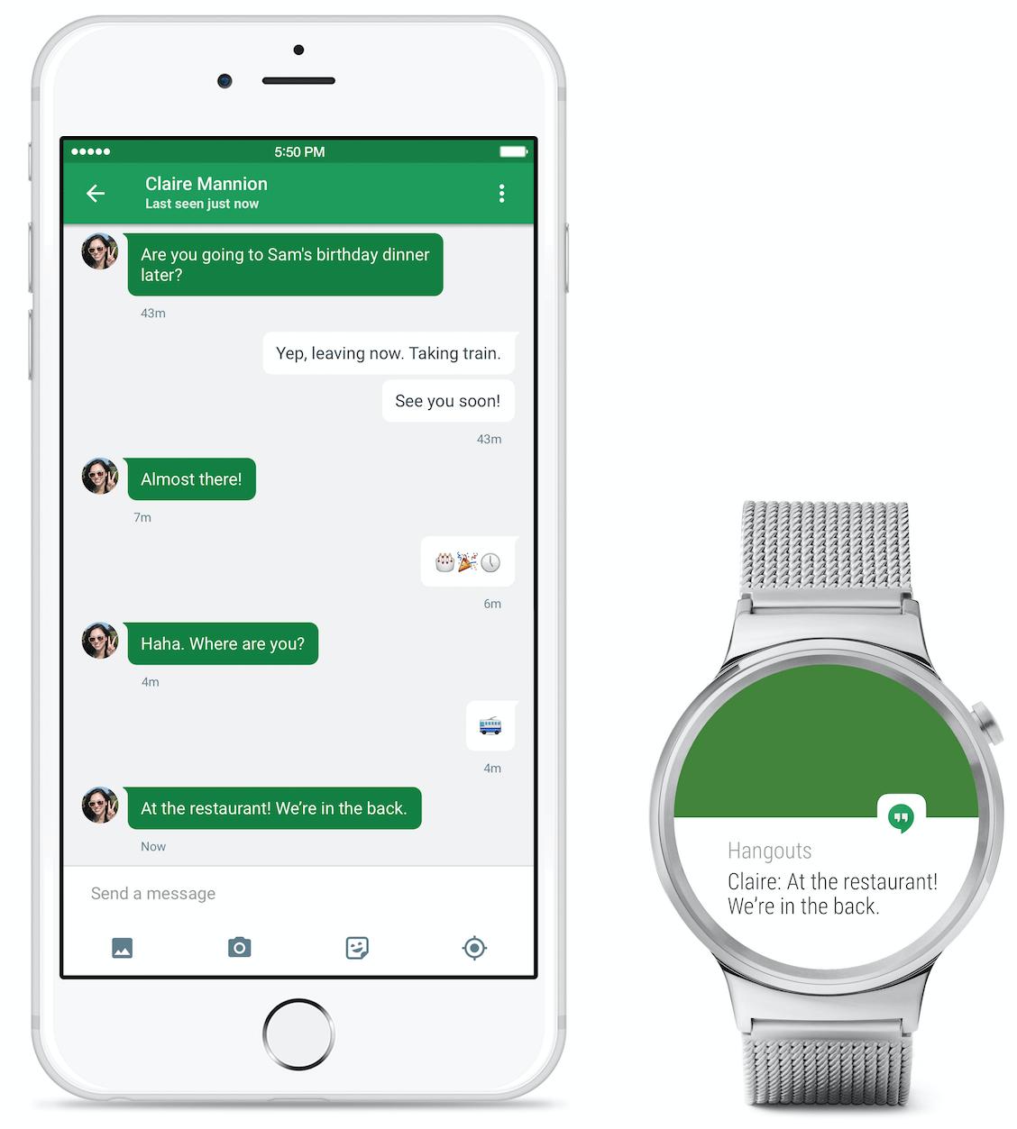 Android Wear теперь официально поддерживает смартфоны iPhone