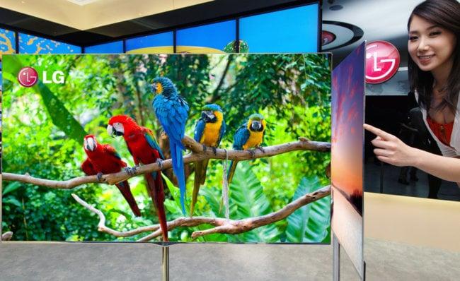 скручиваемую телевизионную OLED-панель
