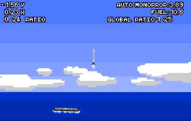 Попробуйте своими руками посадить ракету Falcon 9 на плавучую платформу