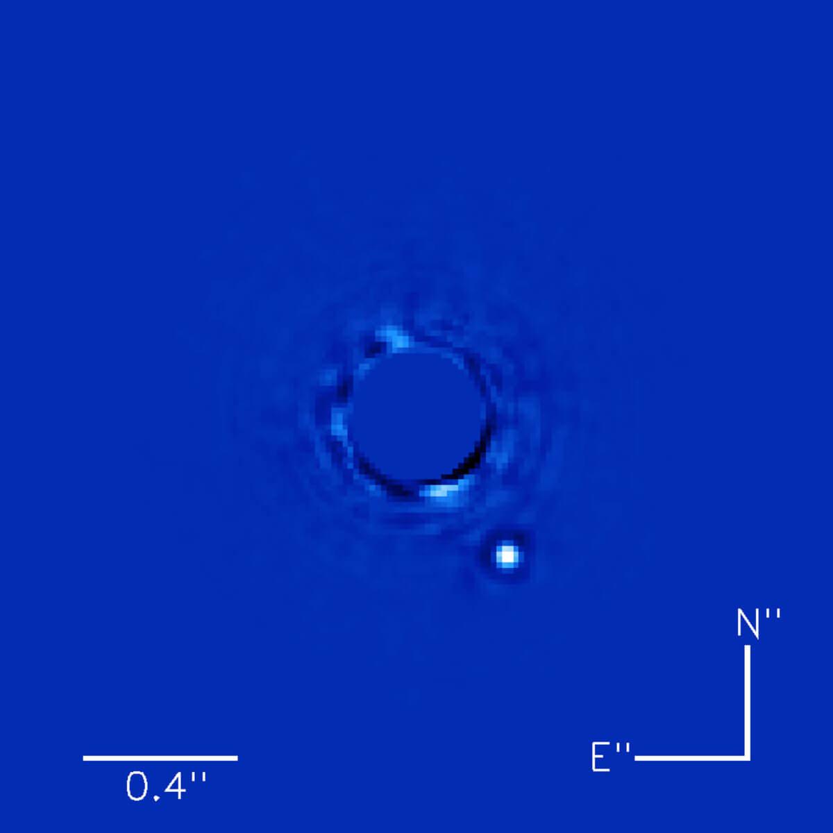 #фото дня| Лучшая в истории астрономии фотография экзопланеты