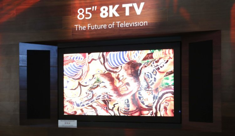 8K-телевизор производства Sharp обойдётся вам в 133 000 долларов