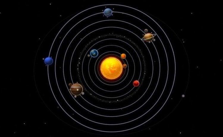других планет в Солнечной системе.