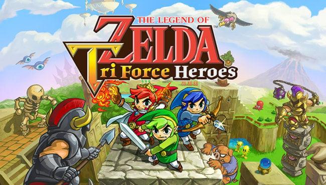 Zelda Tri Force Heroes 01