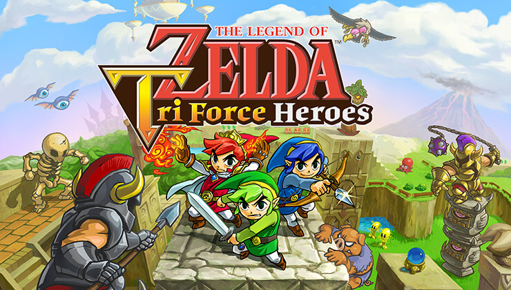Zelda Tri Force Heroes 01