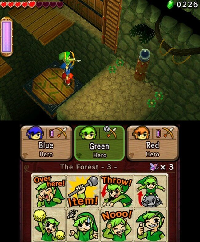 Zelda Tri Force Heroes 03
