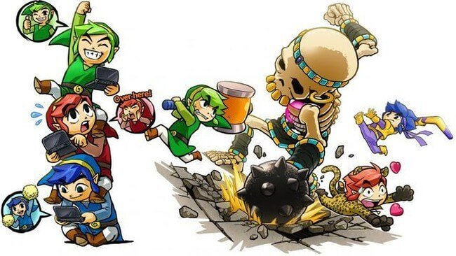 Zelda Tri Force Heroes 04