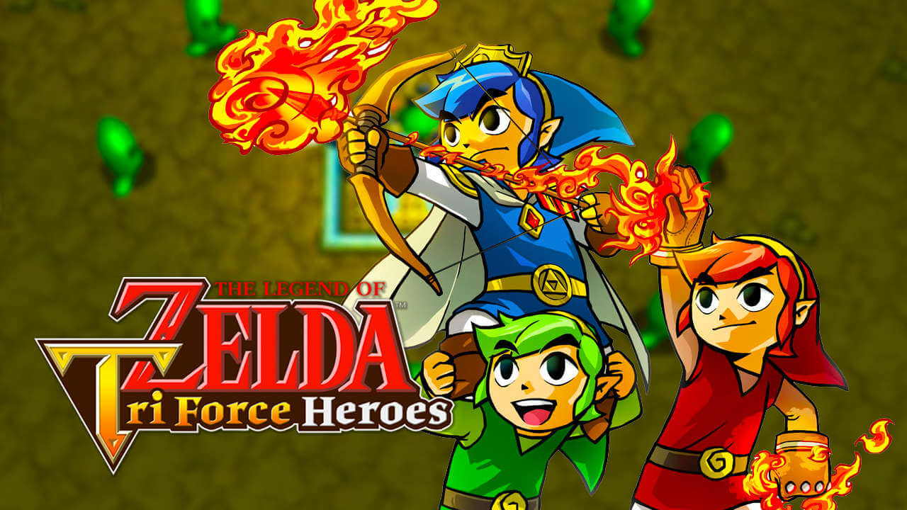 Zelda Tri Force Heroes 07