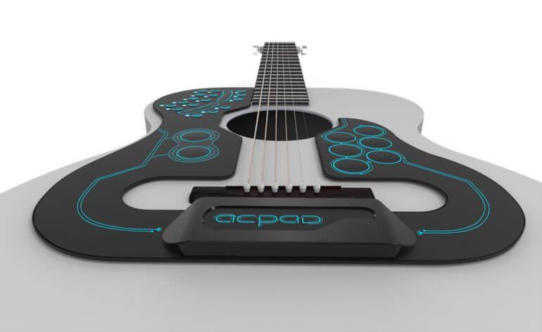 Гитару в гаджетах на компьютере