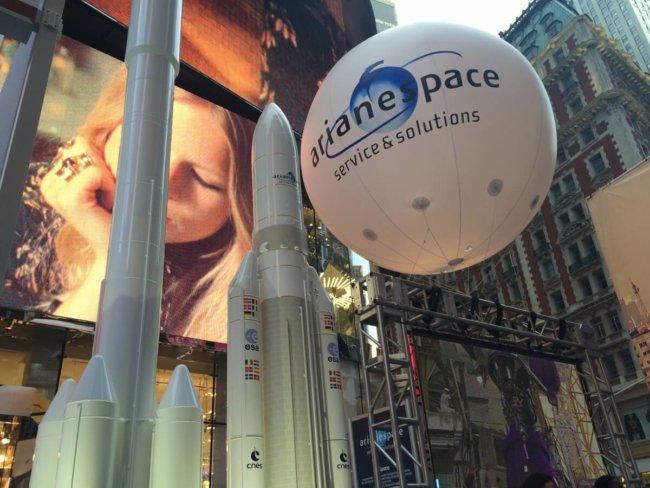 Вино, сыр… ракеты? Французская Arianespace посетила Нью-Йорк