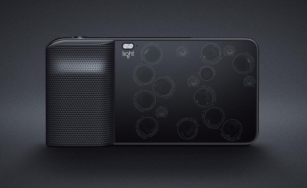 Light L16 – удивительная камера с множеством объективов