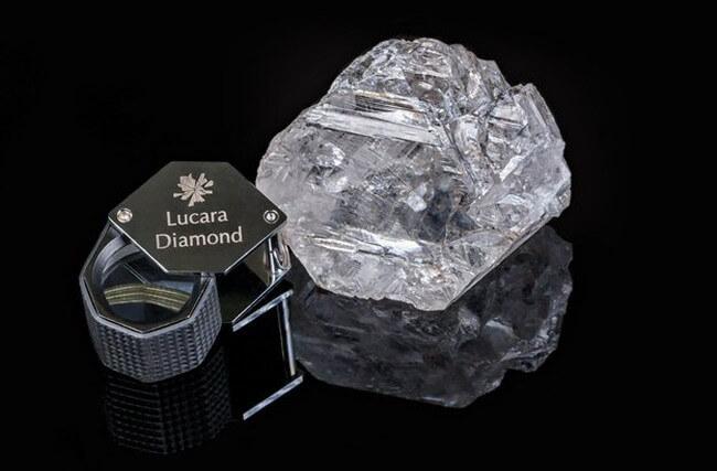 В Африке найден самый крупный алмаз за последние 110 лет