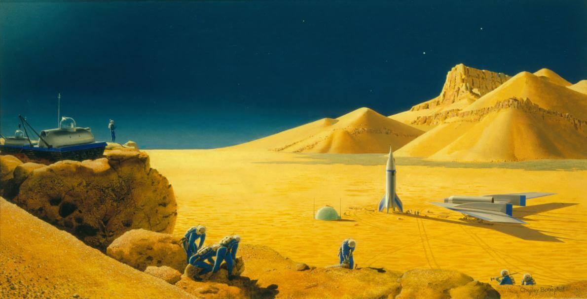 mars a last frontier essay The martian chronicles can be thought of as commentary on westward expansion america has always had a frontier usually it was the west, and when bradbury was writing in the late-1940s, the next frontier seemed to be space.