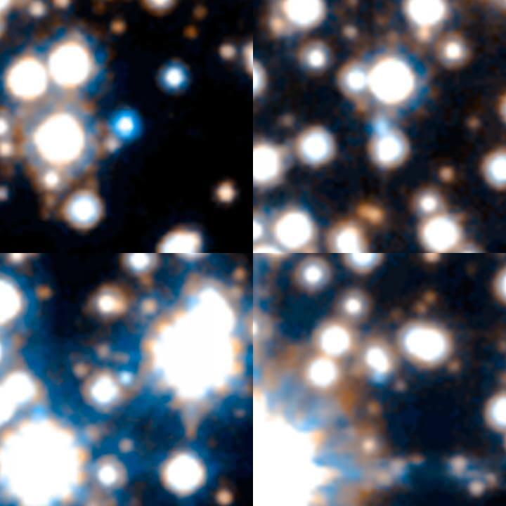 «Хаббл» провел «археологические раскопки» в центре Млечного Пути