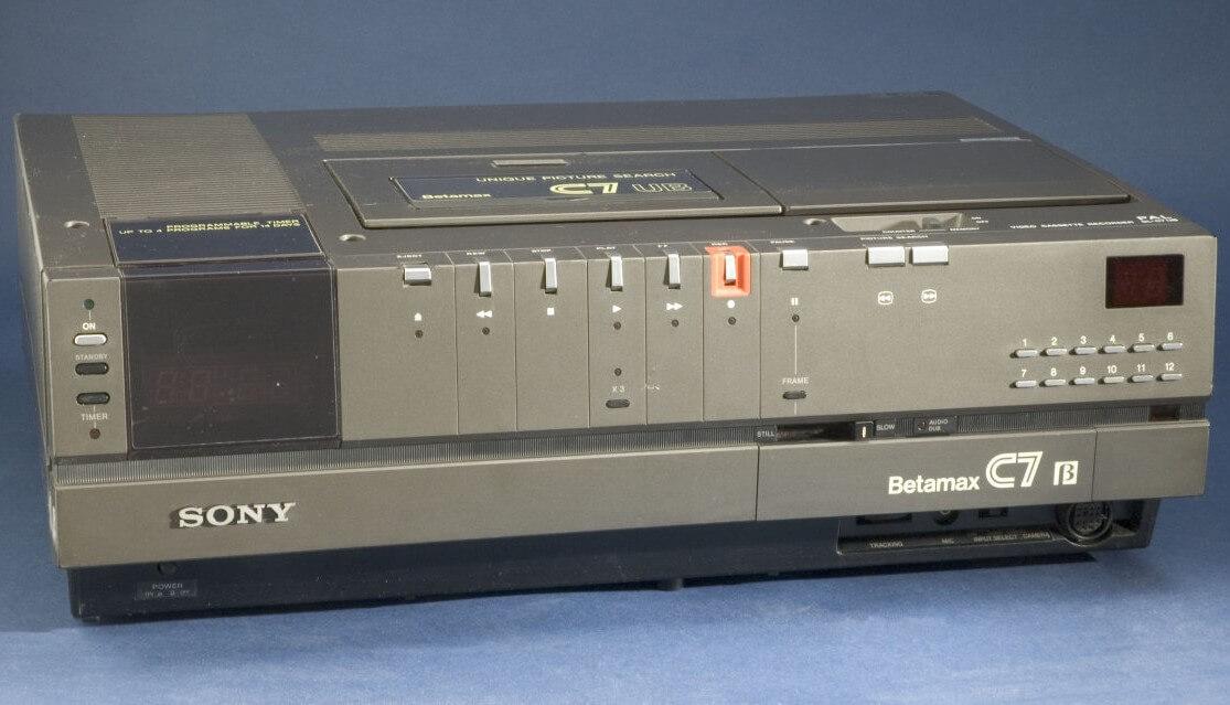 Спустя 40 лет компания Sony отказывается от формата Betamax