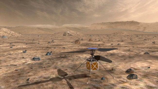 Марсоход 2020 года оснастят небольшим дроном