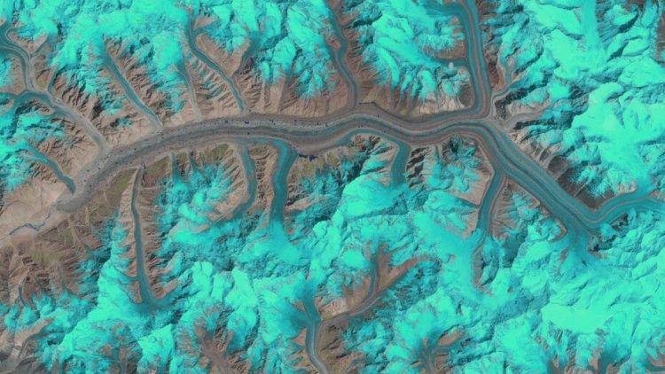 Агентство ESA продемонстрировало 25 лет из жизни ледников за одну секунду