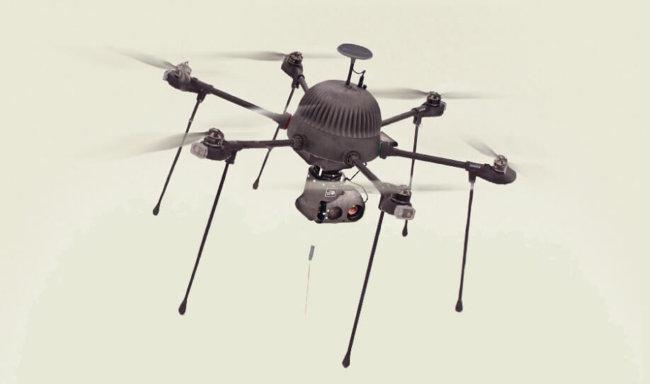 Американская компания начнёт продажи проводного дрона-шпиона