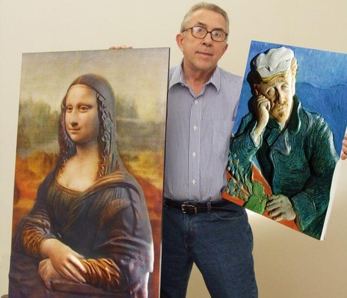 3D-печать позволит слепым людям «увидеть» полотна известных художников