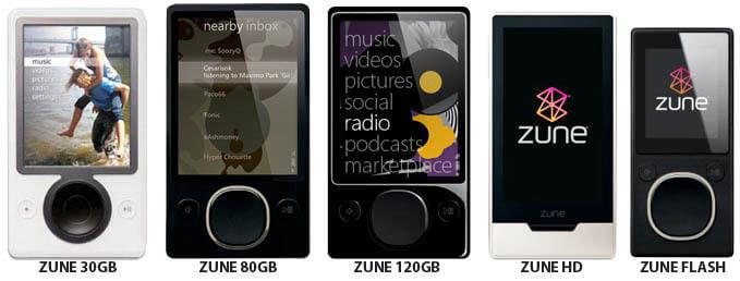 Microsoft поставила точку в истории своего плеера Zune