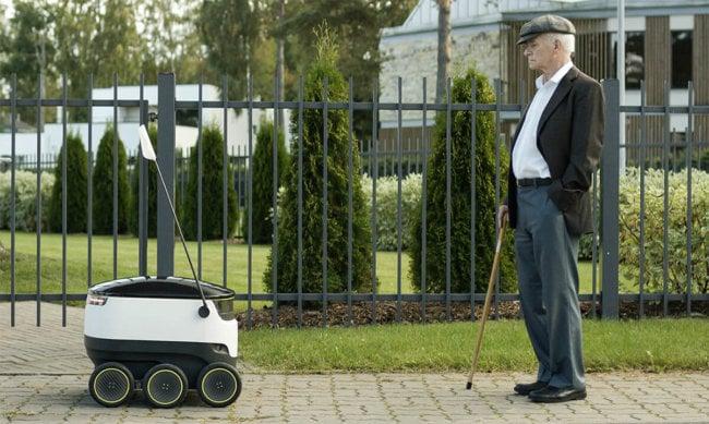 Создатели Skype работают над роботом-доставщиком