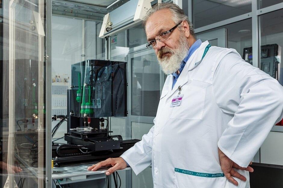 Российские учёные успешно пересадили мыши напечатанную на 3D-принтере щитовидную железу