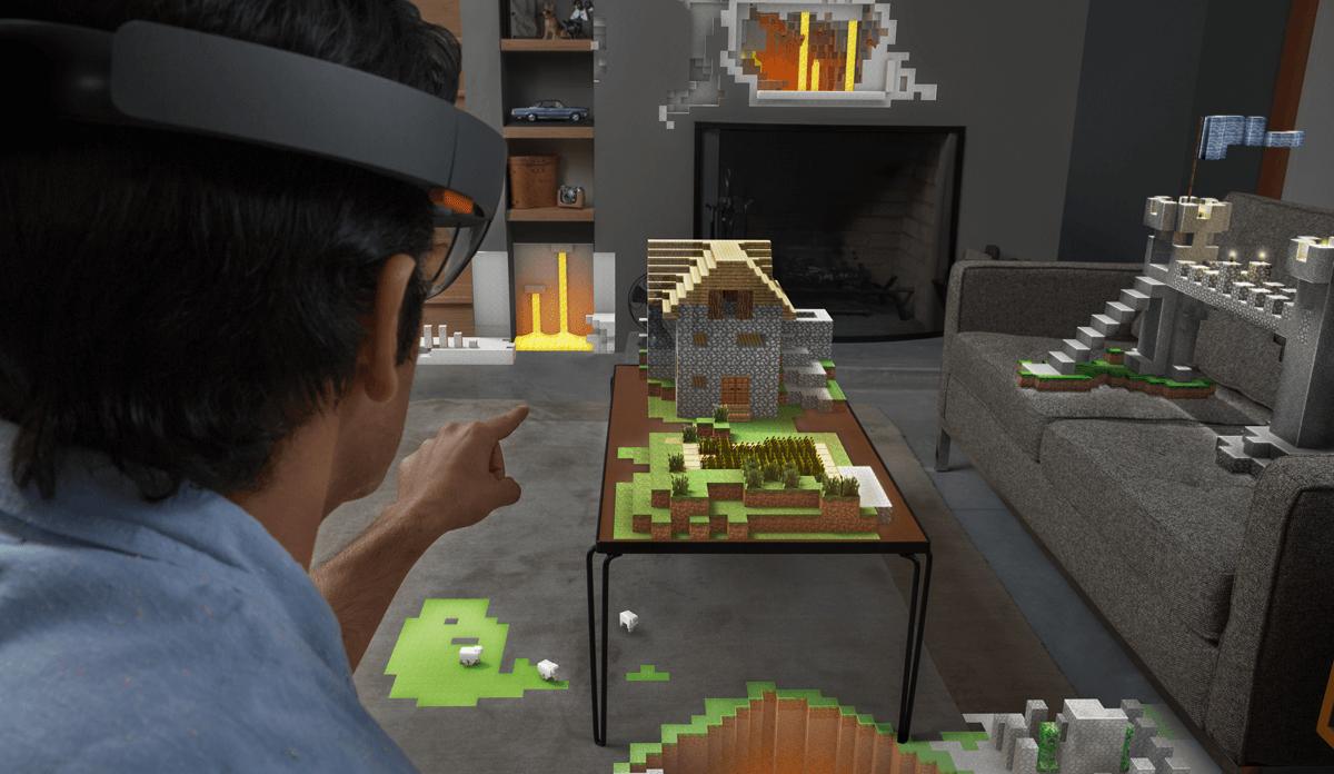 HoloLens можно будет использовать для игры на Xbox One