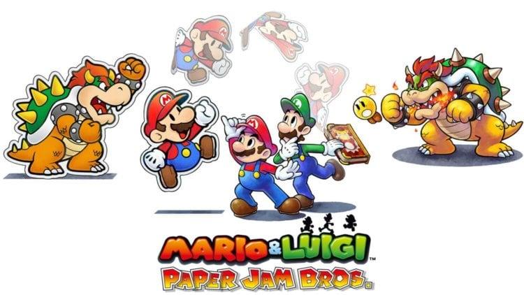 Mario Luigi Paper Jam Bros 01