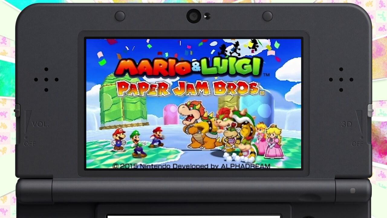 Mario Luigi Paper Jam Bros 02