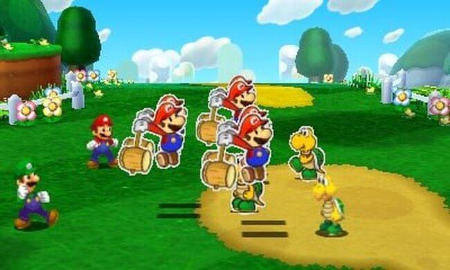 Mario Luigi Paper Jam Bros 05