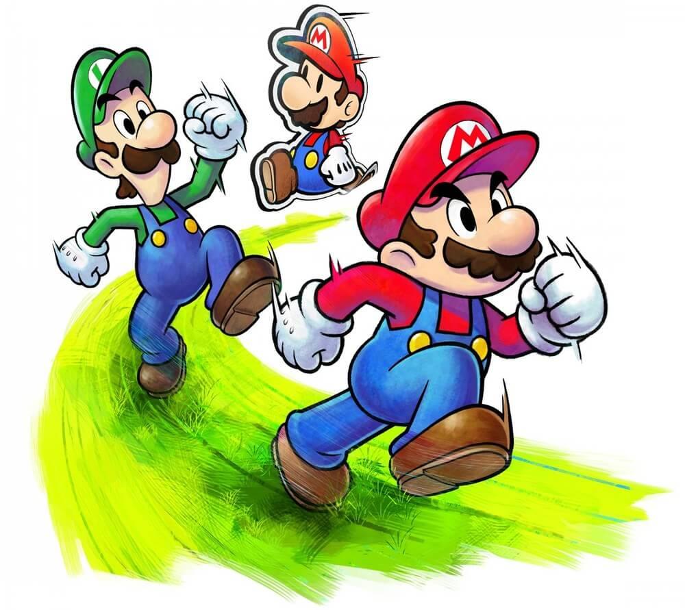 Mario Luigi Paper Jam Bros 09