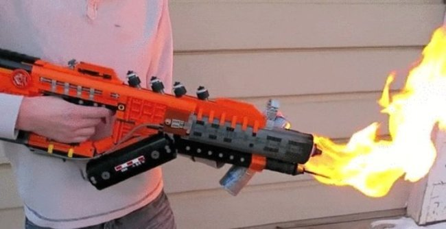 flamethrower