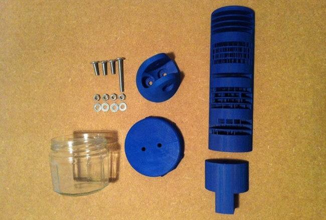 Изобретатель напечатал на 3D-принтере цифровые солнечные часы