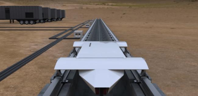 В 2016 году в Неваде начнутся испытания Hyperloop